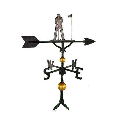32 in. Deluxe Swedish Iron Putter Weathervane