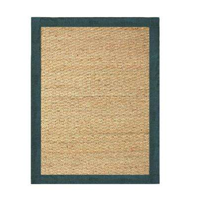 Seagrass Teal 3 ft. x 5 ft. Indoor Area Rug