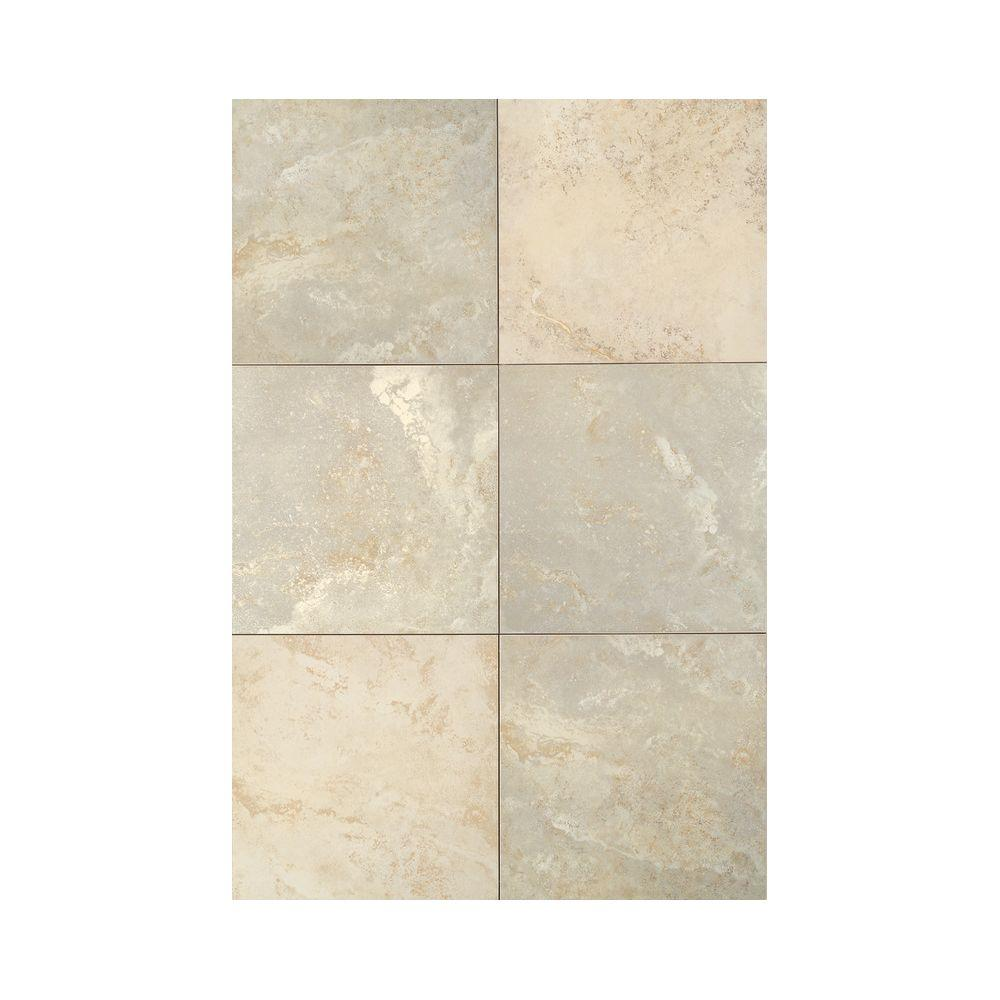 Daltile Pietre Vecchie Champagne 20 in. x 20 in. Glazed Porcelain Floor and Wall Tile (18.83 sq. ft. / case)
