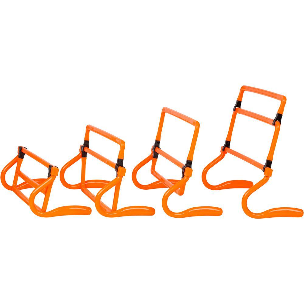 5e9266ee64a4d Trademark Innovations Adjustable Speed Training Hurdles (Set of 5)