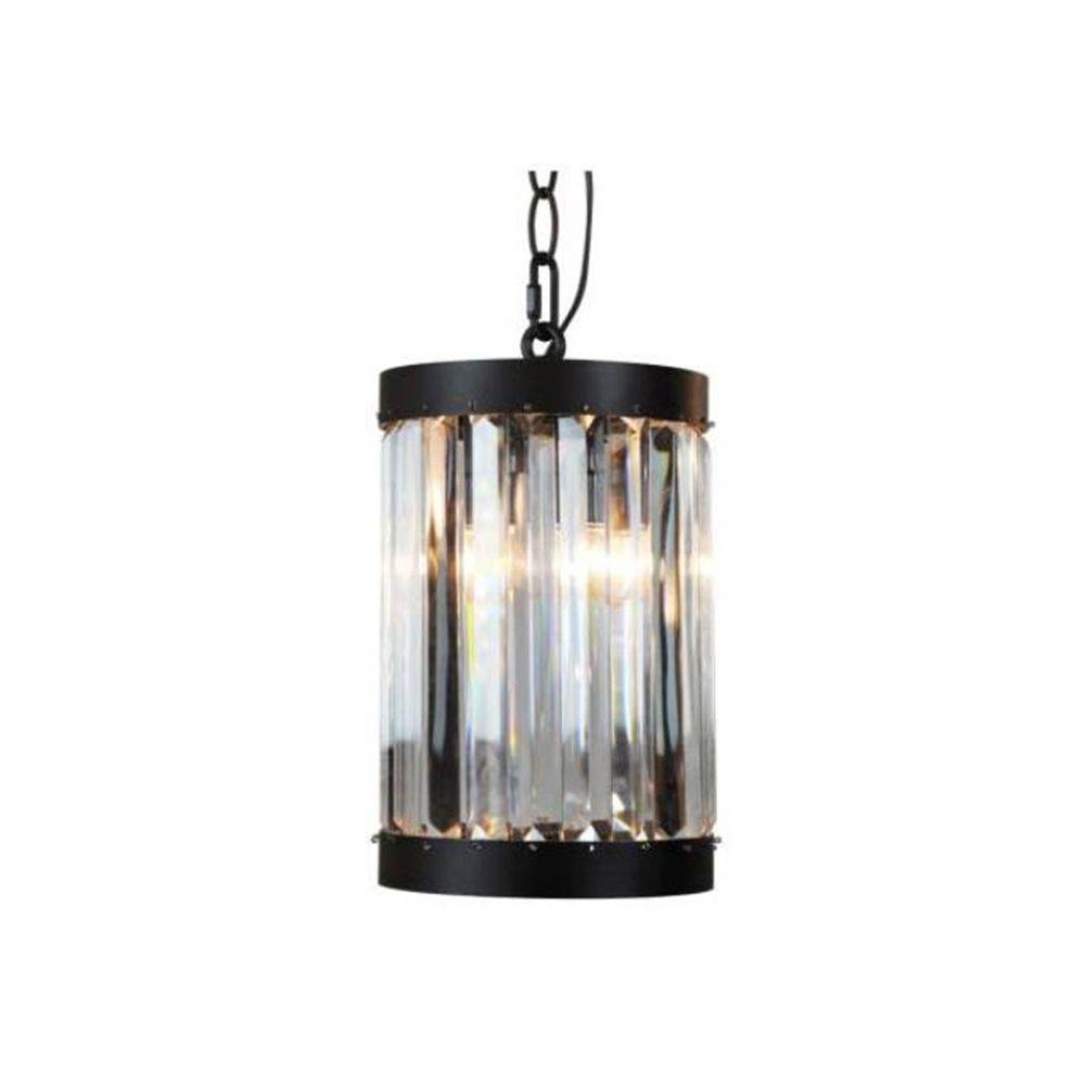 Home Decorators Collection 1 Light Oil Rubbed Bronze Indoor Mini Pendant  With Glass Shade