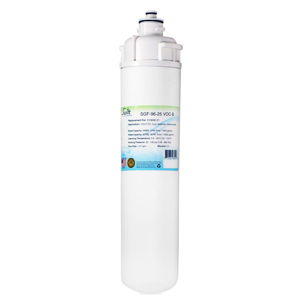 SGF-96-25 VOC-B Replacement Water Filter for Everpure EV9692-21