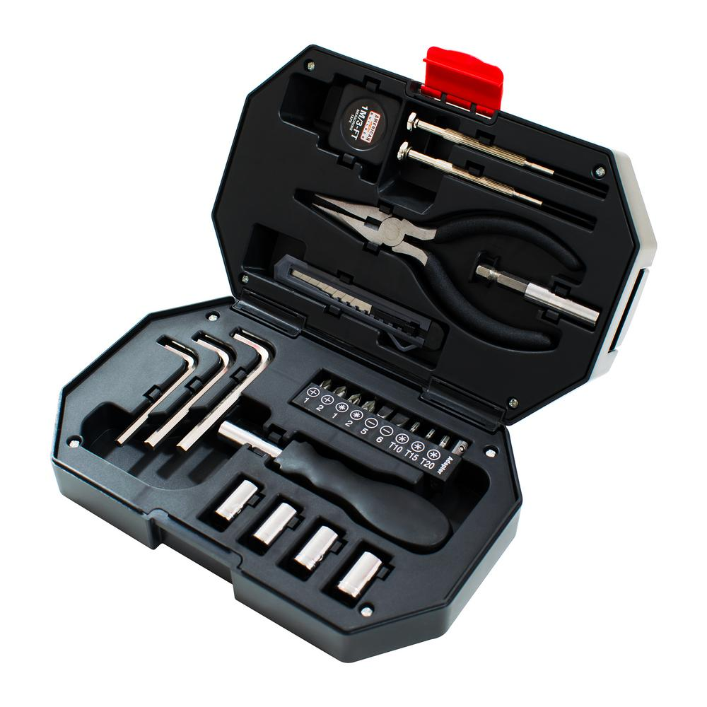 Plastic Storage Home Owner Tool Set (26-Piece)