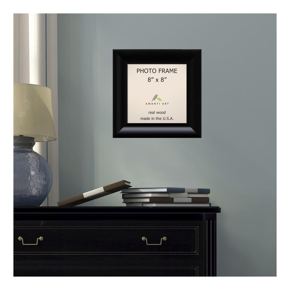 Amanti Art Steinway 8 In X 8 In Black Picture Frame Dsw1385332