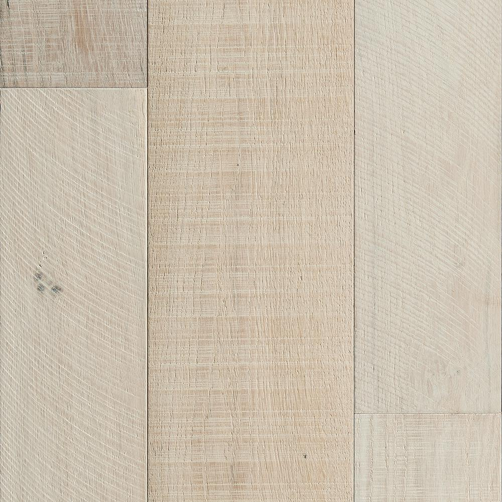 Malibu Wide Plank French Oak Santa Monica 3/8 in.T x 4 in. and 6 in.W x Varying L Engineered Click Hardwood Flooring(793.94 sq. ft/pallet)