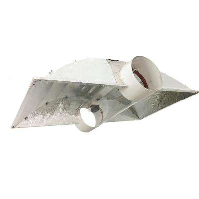 42 in. Double Ended DE Cool Tube XXL Wing with 8 in. Duct Grow Light Reflector for up to 1000-Watt