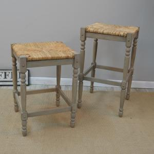 Terrific Hawthorne 29 In Weathered Gray Bar Stool Ncnpc Chair Design For Home Ncnpcorg
