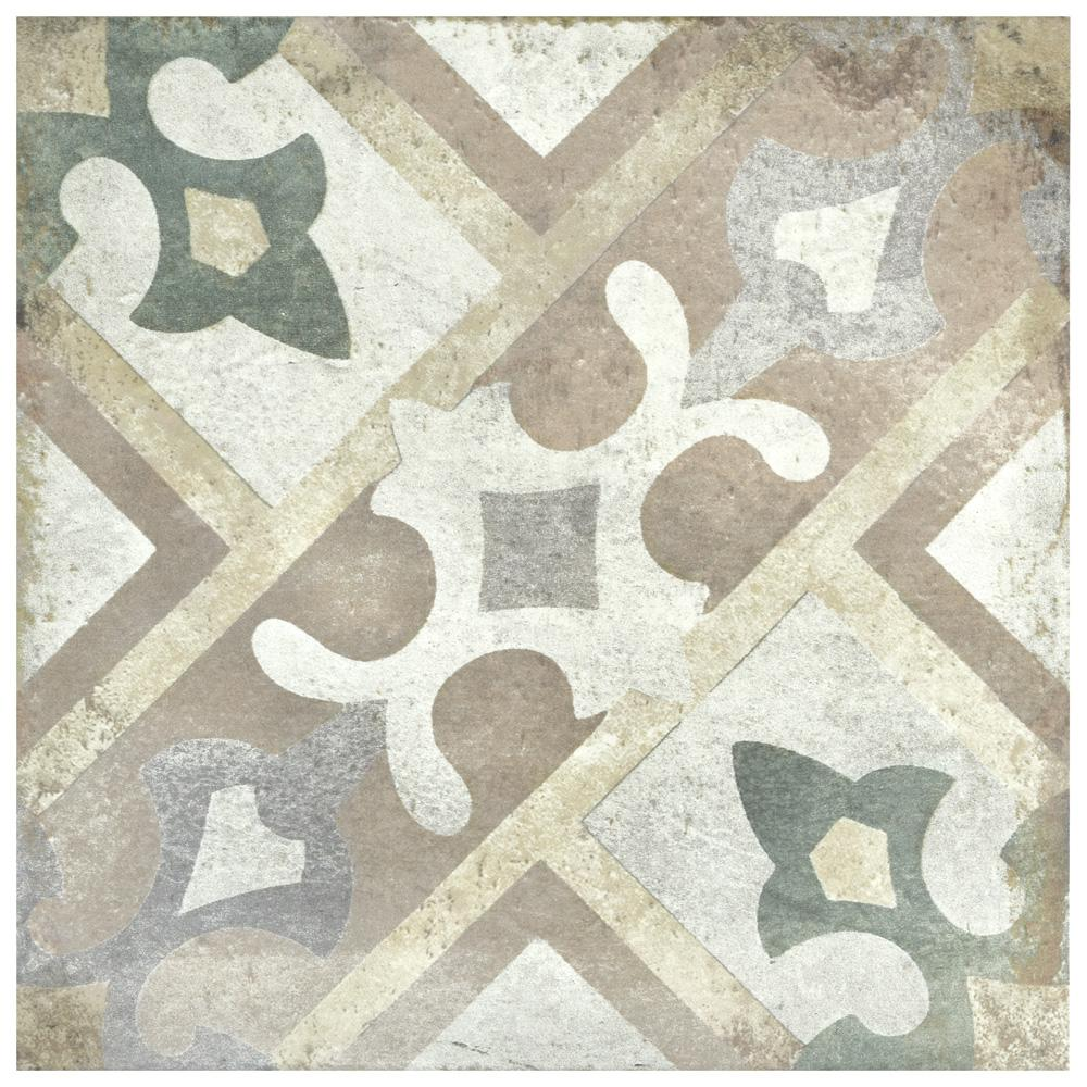 Merola Tile D Anticatto Decor Laterza 8 3 4 In X