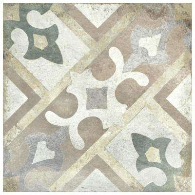 D'Anticatto Decor Laterza 8-3/4 in. x 8-3/4 in. Porcelain Floor and Wall Tile (11.25 sq. ft. / case)