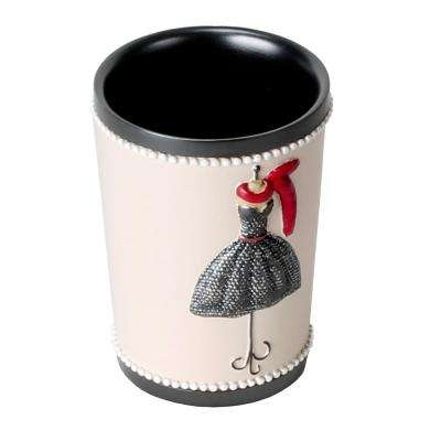 Fashion Passion Freestanding Tumbler in Red