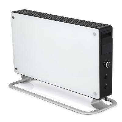 1500-Watt Glass Convection Portable Heater with Fan