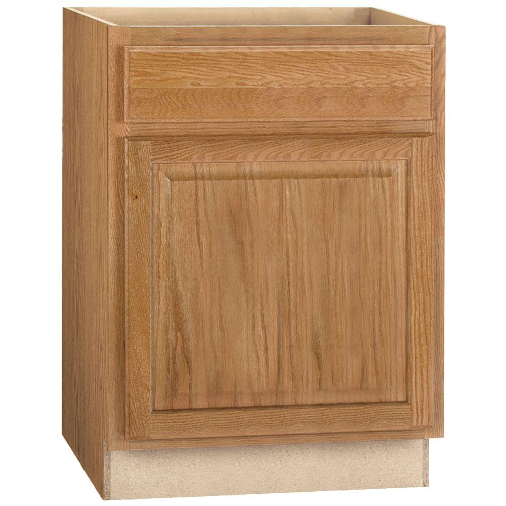 Hampton Assembled 24x34.5x24 in. Base Kitchen Cabinet with Ball-Bearing Drawer