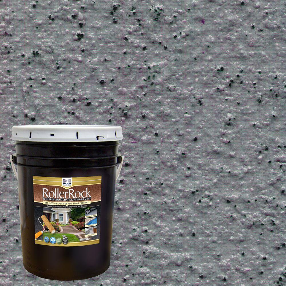 5 gal. Self-Priming LavaRock Gray Exterior Concrete Coating