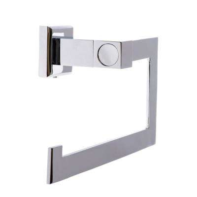 Roma Towel Ring in Polished Chrome