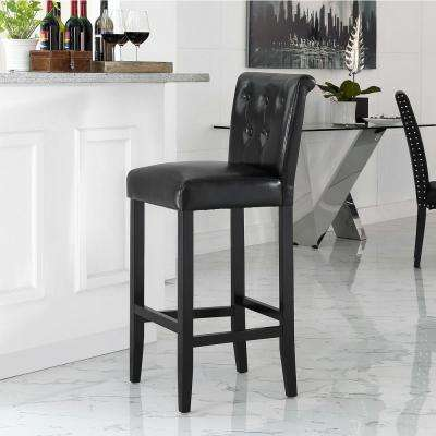 Tender 43.5 in. Bar Stool in Black