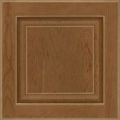 13 in. x 12-7/8 in. Cabinet Door Sample in Olmsted Cherry Autunm