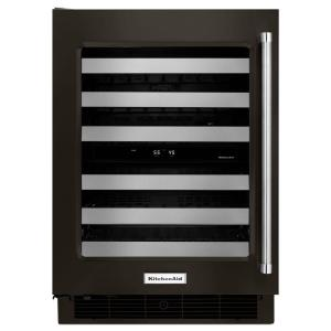 KitchenAid 24 inch W 46-Bottle Dual Zone Wine Cellar by KitchenAid