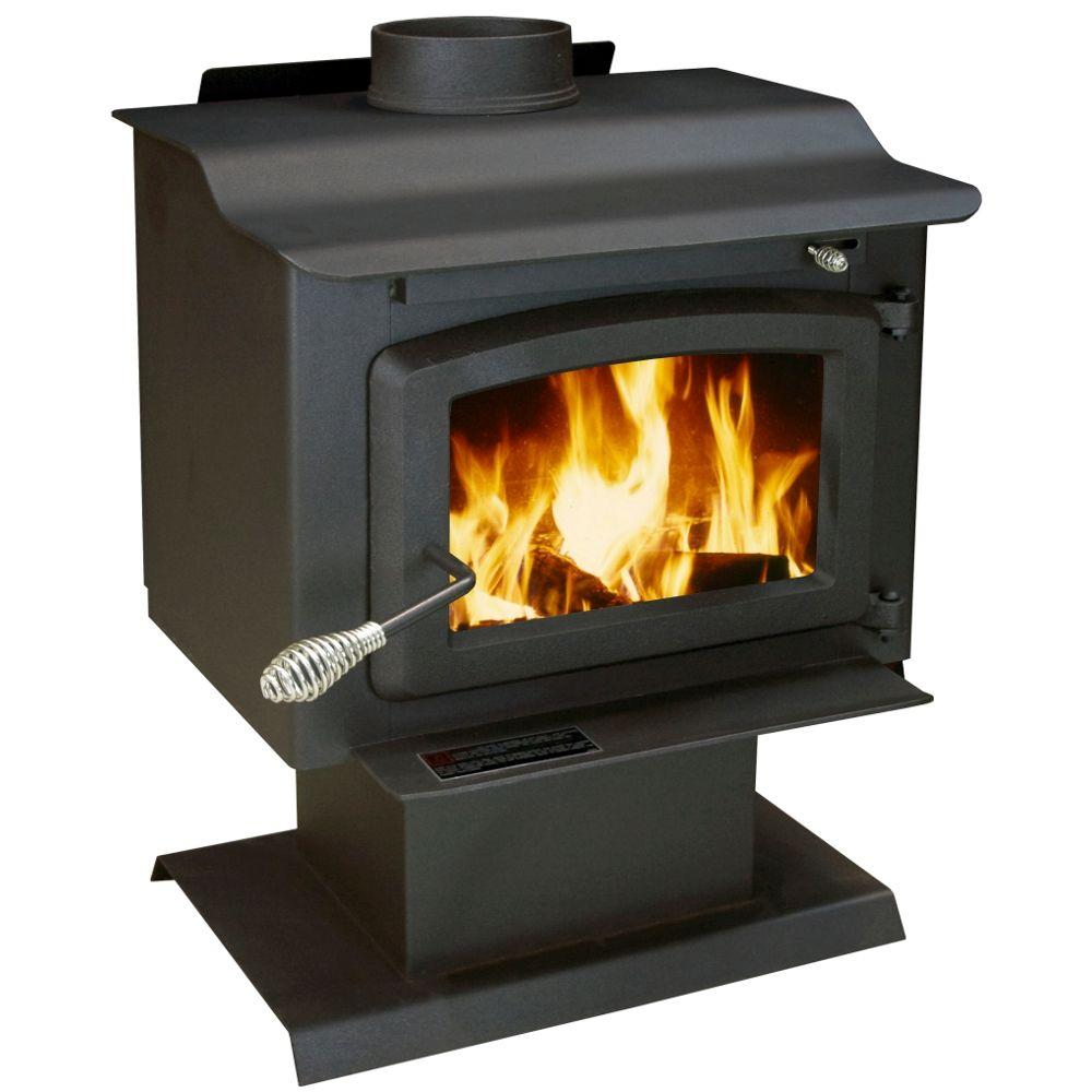 US Stove 1,100 sq. ft. Wood-Burning Stove