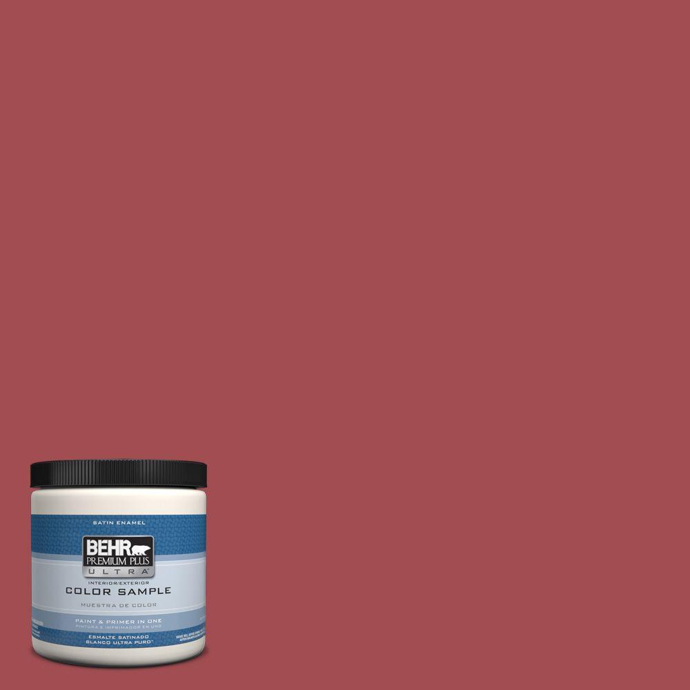 8 oz. #PPU1-7 Powder Room Interior/Exterior Satin Enamel Paint Sample