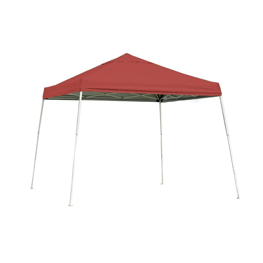 ShelterLogic Sports Series 10 ft. x 10 ft. Red Slant Leg Pop-Up  sc 1 st  Home Depot & ShelterLogic Sports Series 10 ft. x 10 ft. Red Slant Leg Pop-Up ...