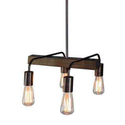 4-Light Brunito Bronze Billiard Light