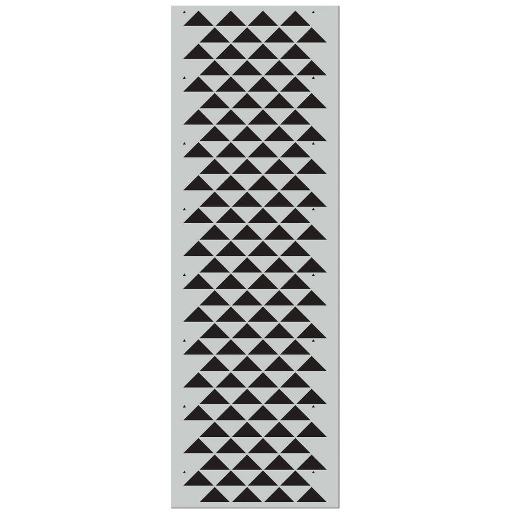 Stencil1 Staggered Triangles Pro Stencil