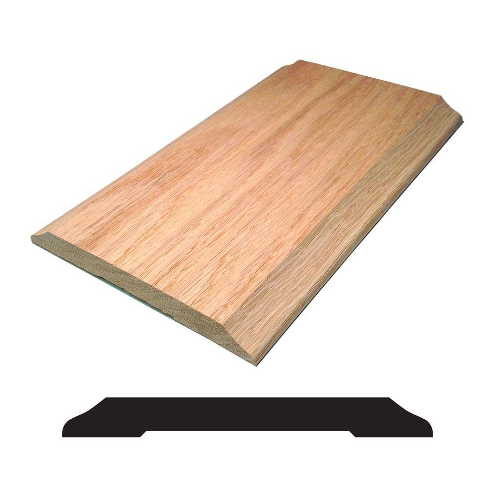 Oak Saddle Threshold Moulding