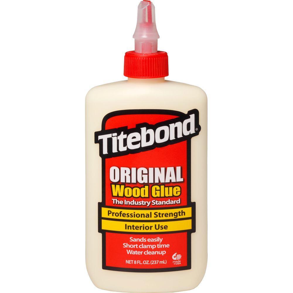 8 oz titebond original wood glue 12 pack 5063 the home depot. Black Bedroom Furniture Sets. Home Design Ideas