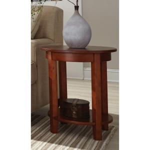 Alaterre Furniture Shaker Cottage Cherry Storage End Table by