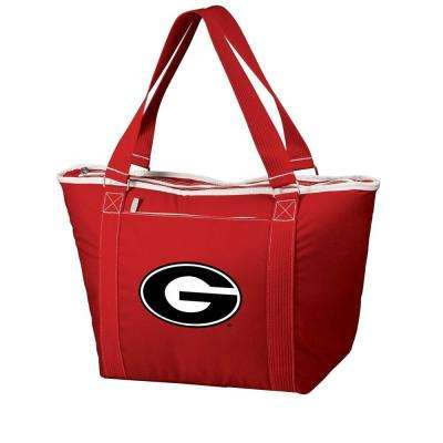 24-Can Georgia Bulldogs Topanga Cooler Tote in Red