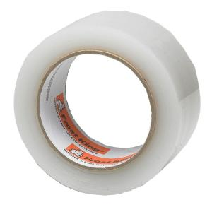 2 in. x 100 ft. Interior/Exterior Clear Plastic Weather Seal Tape
