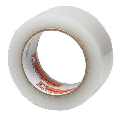 E/O 2 in. x 100 ft. Interior/Exterior Clear Plastic Weather Seal Tape