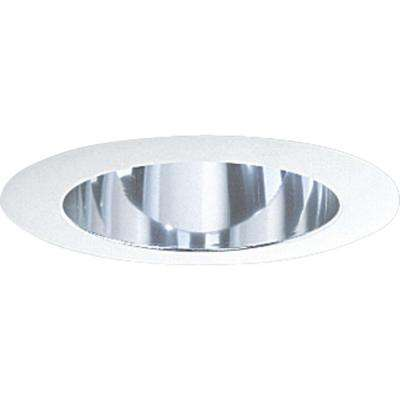 5 in. Clear Alzak Recessed Deep Cone Trim