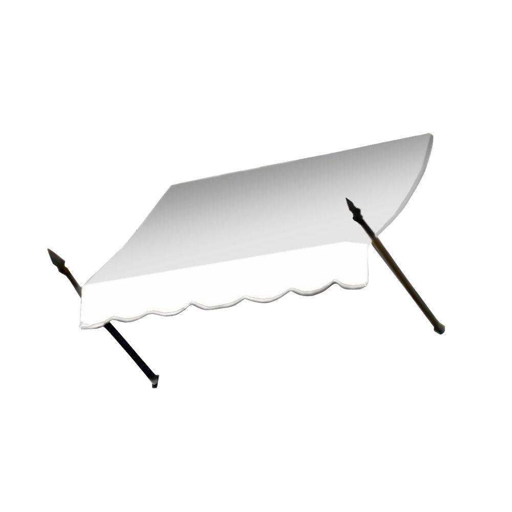 AWNTECH 20 ft. New Orleans Awning (56 in. H x 32 in. D) in OffinWhite