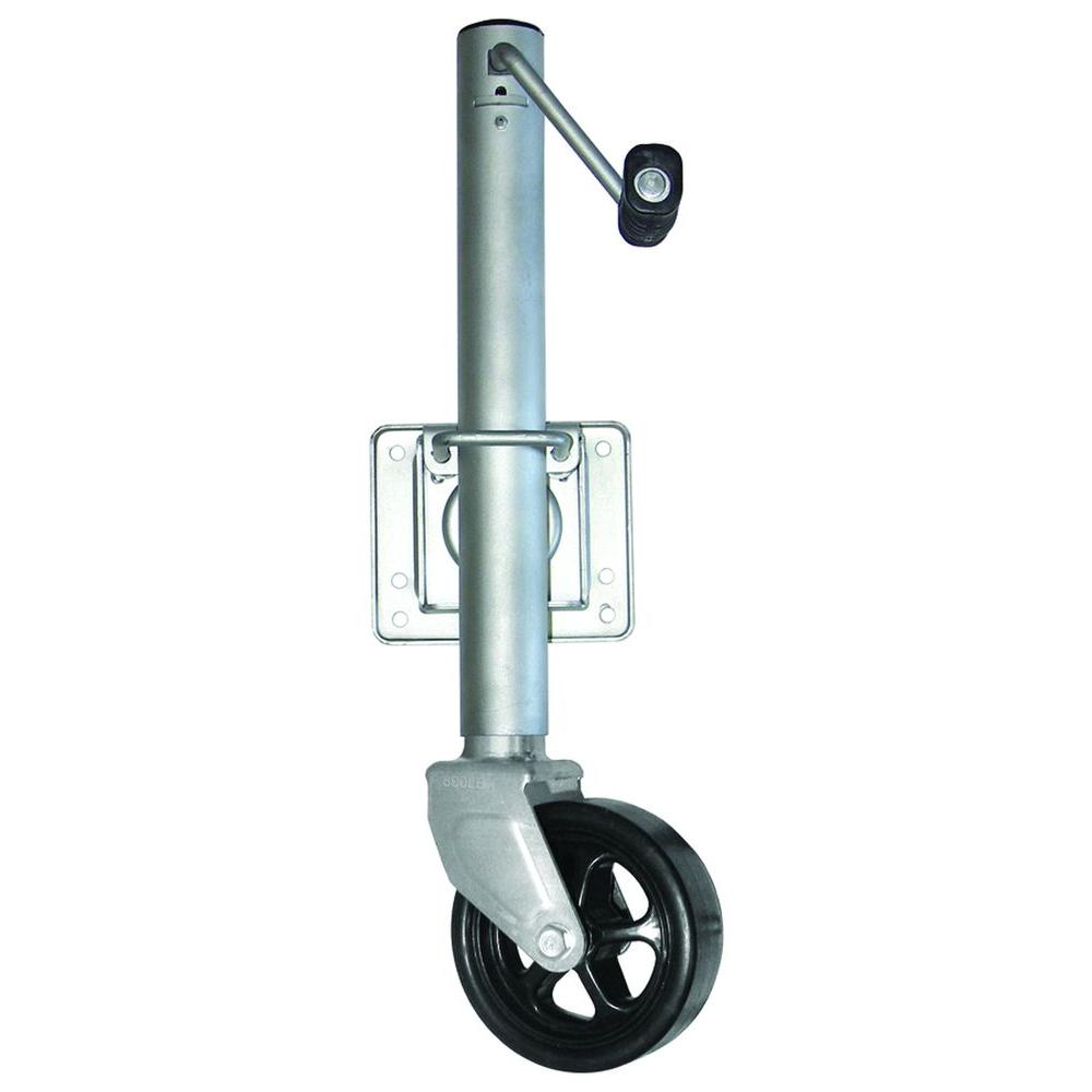 800 lb. Swing Away Trailer Jack with 6 in. Wheel