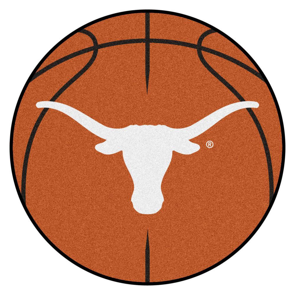 FANMATS NCAA University of Texas Orange 2 ft. 3 in. x 2 ft ...