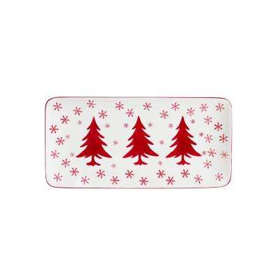 Winterfest Rectangular Platter