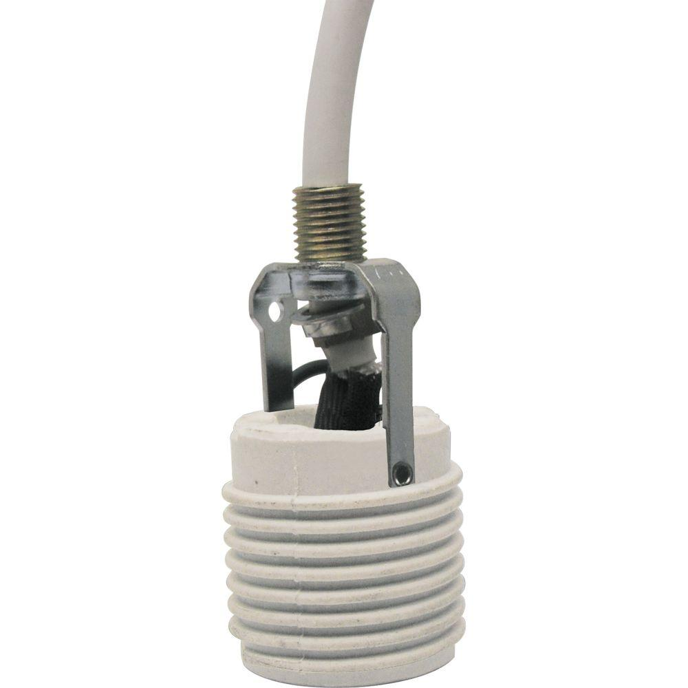 Progress Lighting White Accessory Cord Extender