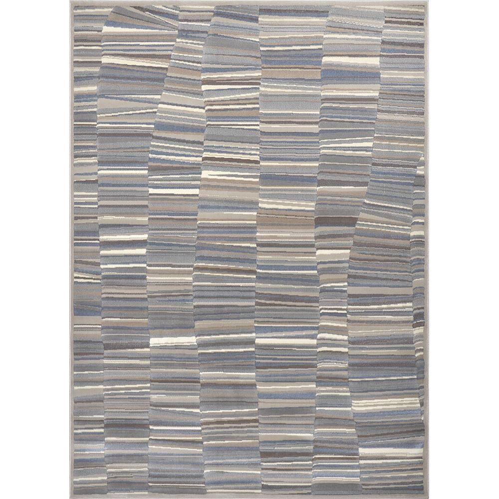 Home Dynamix Rain Gray Blue 8 Ft X 10 Indoor Area Rug