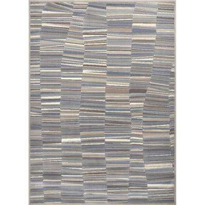 Perfect Rain Gray/Blue 7 Ft. 8 In. X 10 Ft. 4 In