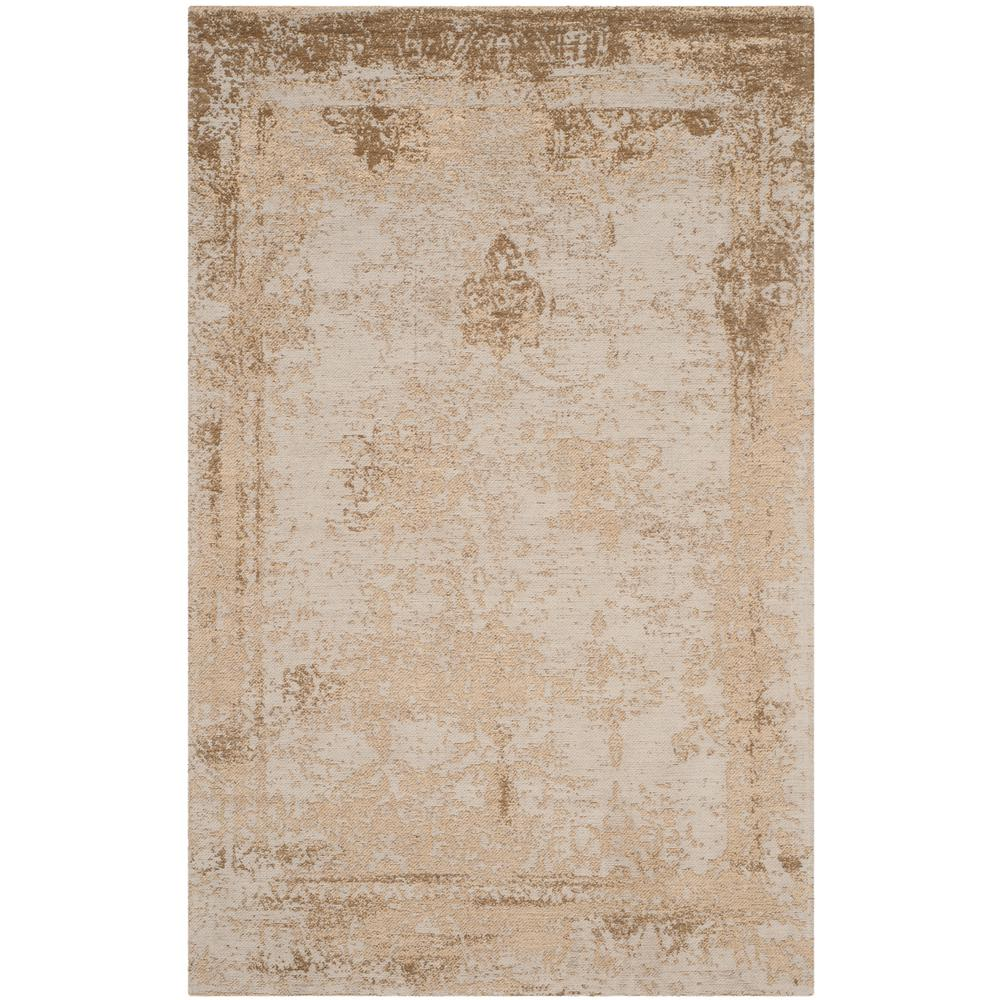 Classic Vintage Sand 4 ft. x 6 ft. Area Rug