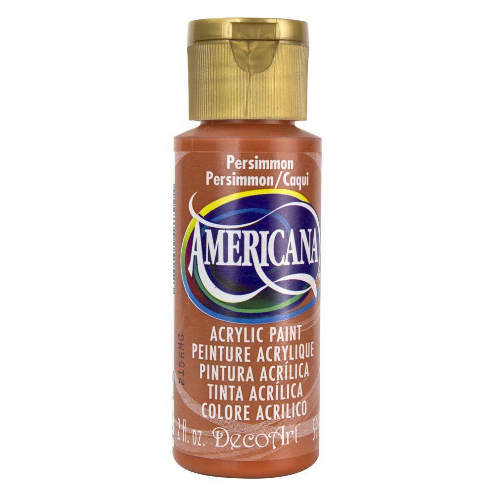Americana 2 oz. Persimmon Acrylic Paint