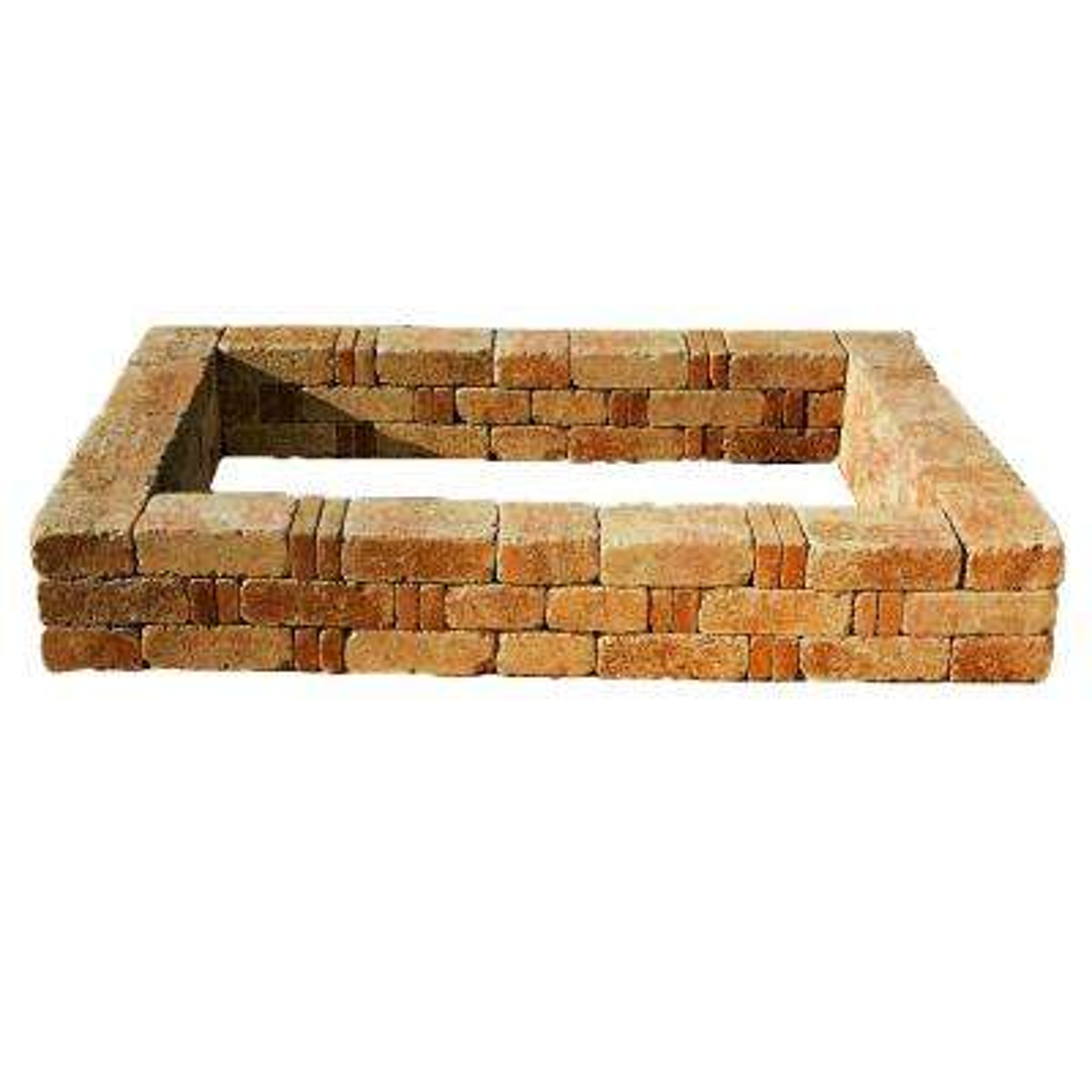 RumbleStone 49 in. x 49 in. x 10.5 in. Sierra Blend Concrete Raised Garden Bed
