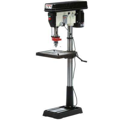 1.5 HP 20 in. Floor Standing Drill Press with Worklight, 12-Speed, 115/230-Volt, JDP-20MF