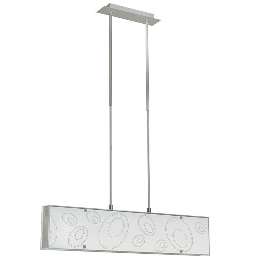 Eglo Indo 5-Light 60-Watt Hanging Matte Nickel Trestle Light
