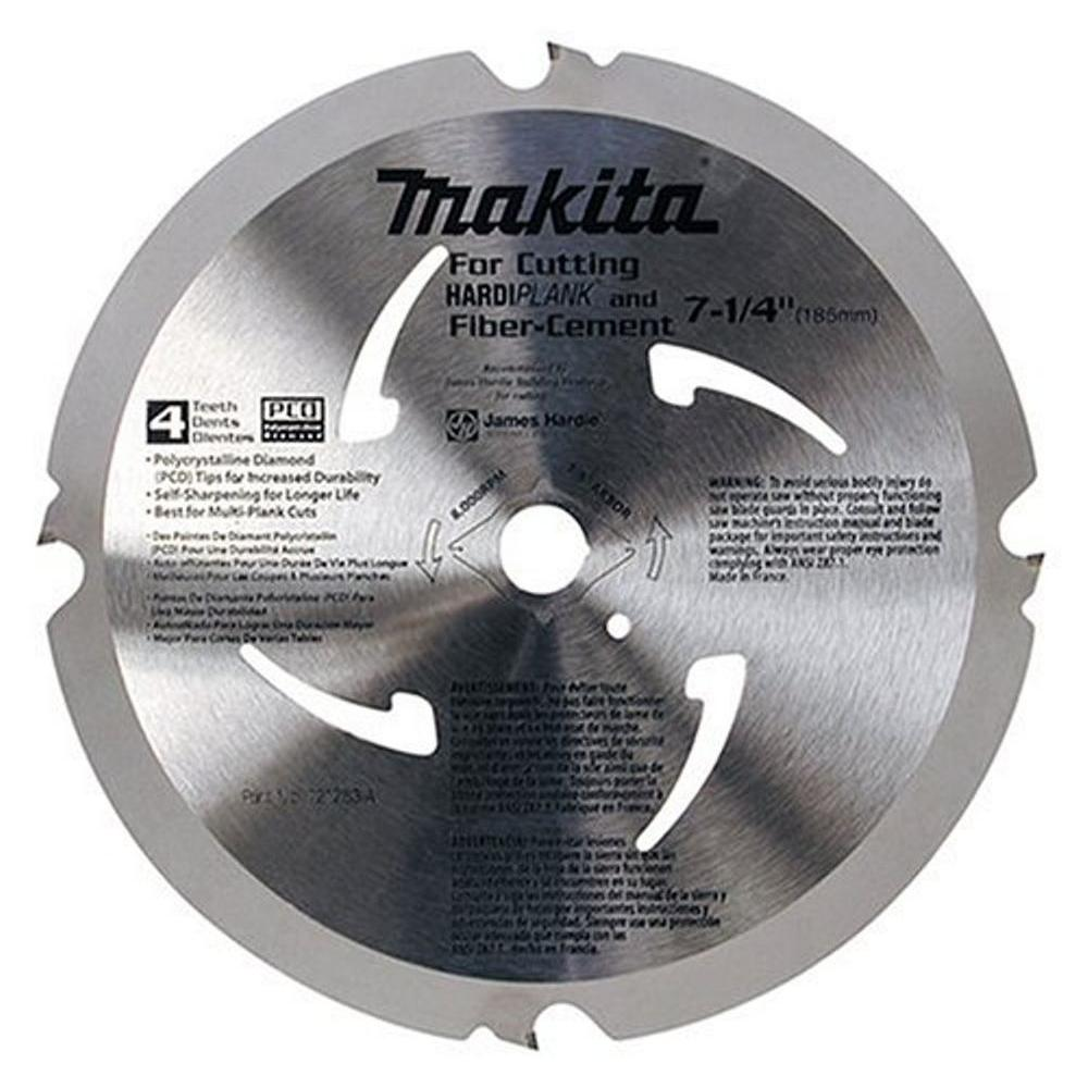 Makita 7-1/4 in. Diamond Tipped Fiber Cement Blade (4T)