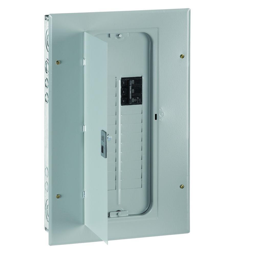 PowerMark Gold 100 Amp 18-Space 18-Circuit 3-Phase Indoor Main Breaker Circuit Breaker Panel