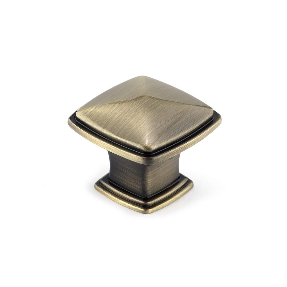 1-1/8 in. Antique English Cabinet Knob