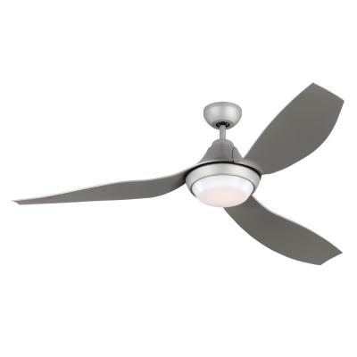 Avvo 56 in. Indoor/Outdoor Grey Ceiling Fan with LED Light Kit, DC Motor, ABS Blades and 6-Speed Remote Control