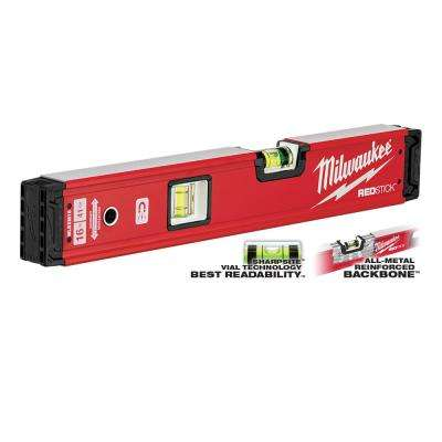 16 in. REDSTICK Magnetic Box Level